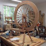 Spinning Wheel in Progress